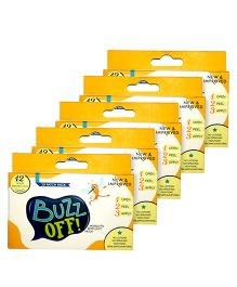 Buzz Off! Mosquito Repellent Patch - Pack Of 20 Patches pack of 5