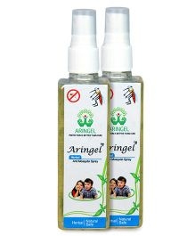 Aringel Herbal Anti Mosquito Spray - 100 ml Pack of 2