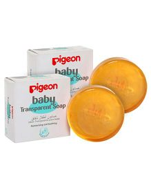 Pigeon Baby Transparent Soap - 80 gm (Pack of 2)