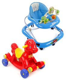 Babyhug Rock O Ride Pony Ride-on - Red AND