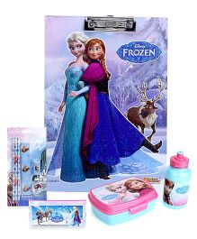 Disney Frozen lunch box set and stationery set and clipboard