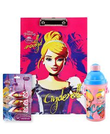 Disney clipboard and eraser set and sipper bottle