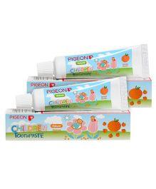 Pigeon Orange Flavoured Children Toothpaste - 45 gm Pack of 2