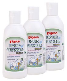 Pigeon Liquid Cleanser Naturals - 200 ml Pack of 3