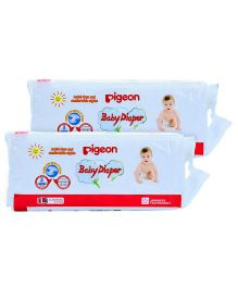 Pigeon Baby Diaper Large - 34 Pieces Pack of 2