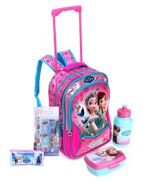 Disney Trolley School Bag and Pencil  Pouch and Stationery Set and Lunch Box Set