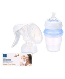 Avent - Comfort Manual Breast Pump and Mee Mee Ultra Thin Disposable Nursing Breast Pad Pack of 12