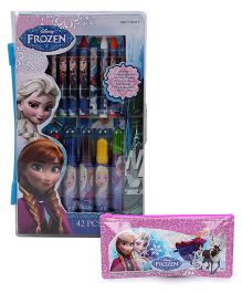 Diney Frozen pencil pouch and art set