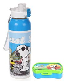 Jewel camper lunch box and insulated water bottle