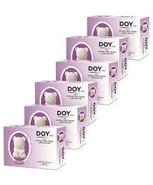 Doy Teddy Soap With Natural Milk Cream And Shea Butter pack of Six