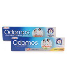 Dabur Odomos Naturals Non-sticky Mosquito Repellent Cream - 100g pack of 2