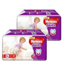 Huggies Wonder Pants Extra Large Pant Style Diapers - 42 Pieces (Pack Of 2)