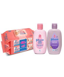 Johnsons Super Saver Combo with Baby Lotion