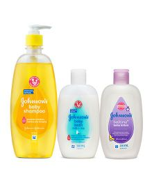 Johnsons baby milk and rice bath 200ml AND Johnsons baby Shampoo  475 ml AND Johnsons bedtime baby lotion 200ml