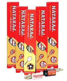 Nataraj -  Pixy Sports Writing Pencil -Pack of 5