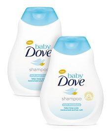 Baby Dove Rich Moisture Shampoo - 200 ml-Pack Of 2