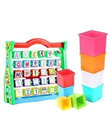 Venus Learning Kit Junior and  Giggles Stacking Cubes - 8 Cubes