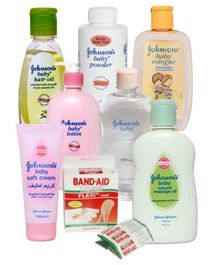 Johnson and Johnson Complete Baby Protection Kit (Set of 8)