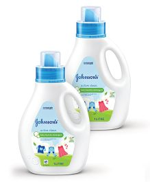 Johnsons baby Active Clean 1L Pack of 2