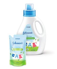 Johnsons baby Active Clean 1L AND Johnsons baby Active Clean 500ml
