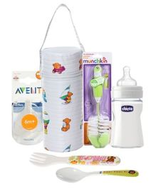 Feeding Accessories Combo (Set of 6)