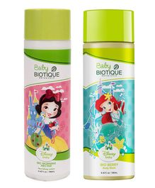 Baby Biotique Bio Morning Nectar Nourishing Lotion 190 ml AND Bio Berry Body Wash 190 ml