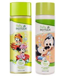 Baby Biotique Body Wash - 190 ml AND Nourishing Lotion - 190 ml