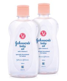 Johnsons baby Oil 500 ml ( Pack Of 2 )