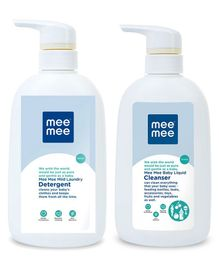 Mee Mee Baby Accessories And Vegetable Liquid Cleanser and Laundary Detergent - 500 ml