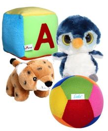 Soft Toys Combo (Set of 4)