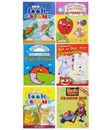 Colouring Book Combo (Set of 6)