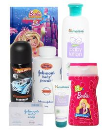 Baby Conditioning Shampoo, Deodorant and Skin Care Combo (Set of 7)