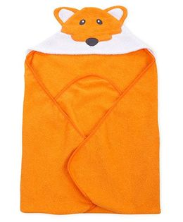 Wonderchild Baby Hooded Fox Towel - Orange
