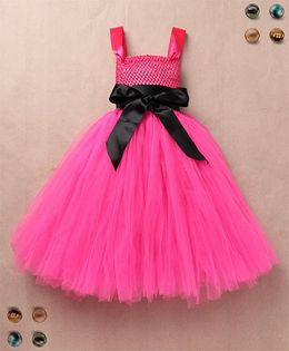 Party Princess Double Layered Party Dress - Pink
