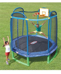 Little Tikes All Star Sports Trampoline - 304.8 cm