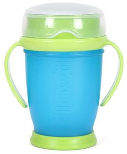 Lovi 360 Cup With Handles Green & Blue - 250 ml