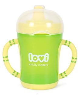 Lovi Easy Start Spout Cup Green - 200ml
