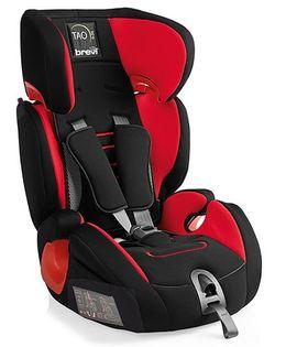 Brevi Tao Car Seat - Red & Black