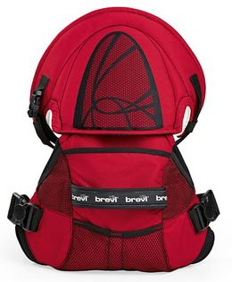 Brevi Pod Baby Carrier - Red