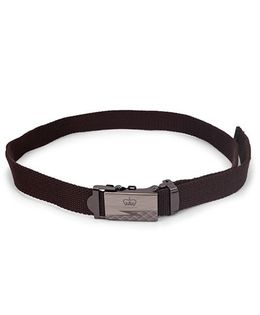 Kid-o-nation Belt With Self Lock Brown (Buckle Design May Vary)