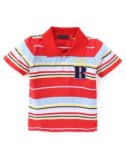 Great Babies Super Kids Striped T-Shirt - Red