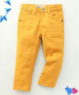 Bee Bee Smart Long Pant - Yellow
