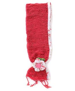 De Berry Attractive Headband With Flower - Red