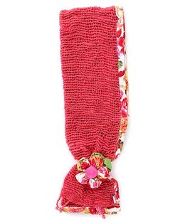 De Berry Gorgeous Flower Headband - Red