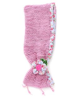 De Berry Pretty Headband With Flower - Light Pink