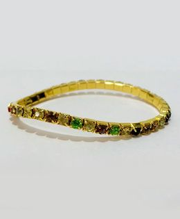 Aayera'S Nest Diamond Wristband - Multicolour