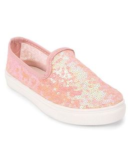 One Friday Shoes With Sequins - Pink