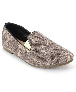One Friday Dual Tone Loafers - Brown