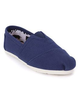 One Friday Patterned Loafers - Blue