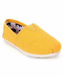 One Friday Patterned Loafers - Yellow